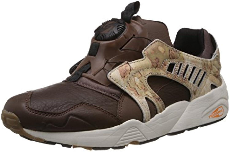 Puma Trinomic Disc Camo Blaze Sneaker Men Trainers 357366 01 brown leather -