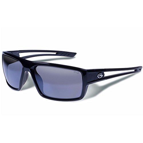 Wall Sonnenbrille-Smoke Polarisiert-Schwarzer Rahmen