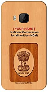 "Aakrti Mobile Back cover with your Dept: National Commission for Minorities (NCM).Express your ID in surprise way With "" Your Name "" Printed on your Smart Phone : Samsung Galaxy S-4 Mini / 9190"