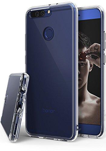 Coque Huawei Honor 8 Pro, Ringke [FUSION] Bumper en TPU avec Dos Crystal transparent [Protection contre les chutes / Technologie d'absorption des chocs] Étui de protection pour Huawei V9 - Clair