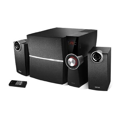 Edifier C2XD - Kit d'Enceintes 2,1 PC Noir Analogique et Optique, Télécommande Sans Fil (53 Watts) de Edifier