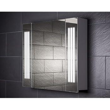 Spiegelschrank holz weiß  Galdem EVEN80 Spiegelschrank, holz, 80 x 65 x 15 cm, weiß: Amazon ...