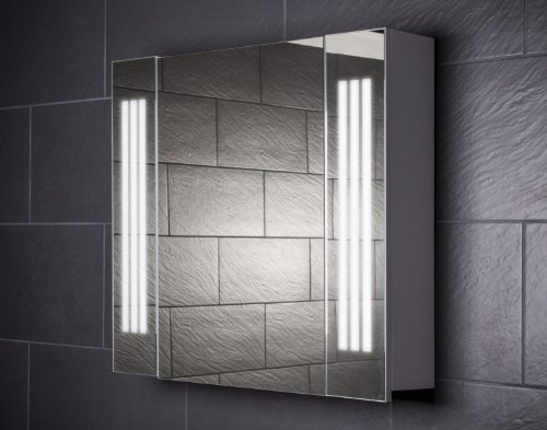 Spiegelschrank Galdem 80 cm - LOFT80 Spiegelschrank weiß