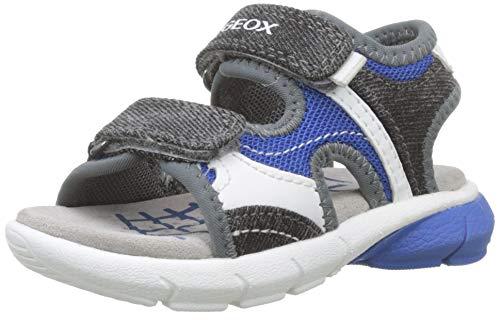 Geox B Sandal Flexyper Boy Bimbo, (Royal/Grey C0095), 21 EU