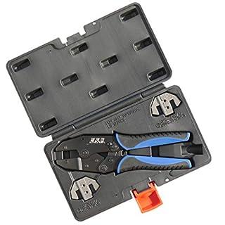 Cable Solution Crimpzangen Set Superseal im Koffer 0,35/0,50 ² 1,50² 0,75² u. 1,00² Presszange