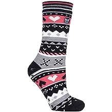 HEAT HOLDERS - Mujer invierno calientes termicos calcetines antideslizantes estar por casa