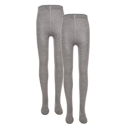 Ewers Baby- und Kinderstrumpfhose für Mädchen und Jungen 2er Pack, Made in Europe, Strumpfhose Baumwolle Uni Basic Doppelpack
