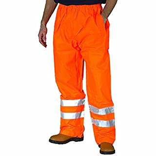 Army And Workwear Exact Colour: Orange | Size: L Large | Use: HV Road Safety Construction Builders PPE Clothing