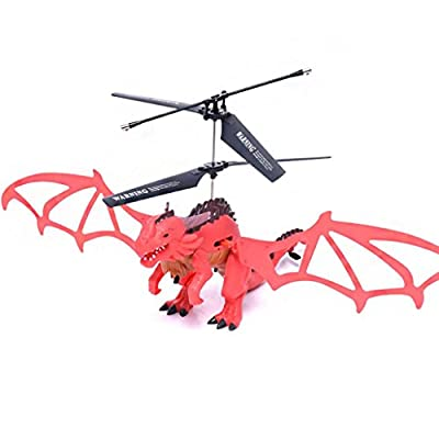 Kolylong New Style X75 Drone 3.5CH Infrared Remote Control Dragon Aircraft