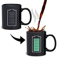Incutex taza mágica calor cambio taza sensitiva al calor – Batería