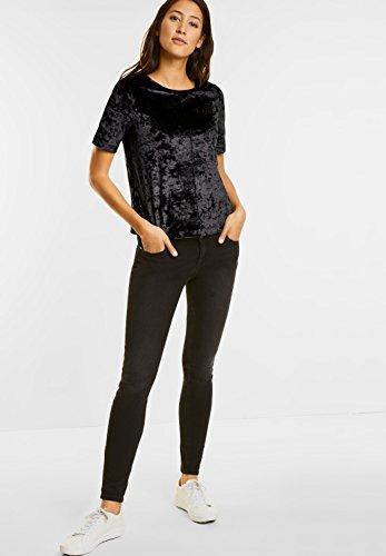 Street One Damen T-Shirt Black (Schwarz)