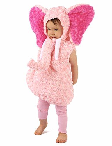 Generique Rosa Elefanten Kostüm für Kinder 86/92 (18-24 Monate) (Elefant Kostüm 18 Monate)
