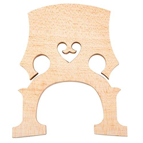 Sharplace Chevalet de Contrebasse en Bois Accessoires pour Instrument à Cordes - 181 * 151 * 23mm