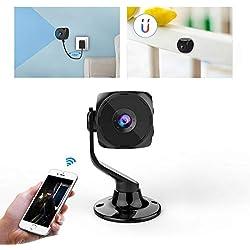 Camera Surveillance WiFi IP Espion - KEAN 1080P HD Dôme Camera sans Fil Sécurité Intérieur Exterieur Détection de Mouvement Vision Nocturne pour sécurité la Maison/Apartment/Bébé/Animaux de Compagnie