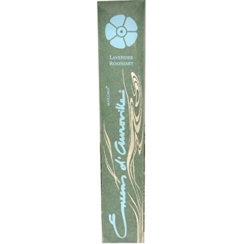 Maroma, Encens d' Auroville, Lavender Rosemary, 10 Incense Sticks by Maroma