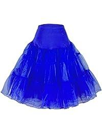 Phoenix® enagua de la boda accesorios enagua tutú de la boda Enaguas Falda paseo Tutú 50s enagua rockabilly retro pivotar enagua de la vendimia falda neta de lujo enagua