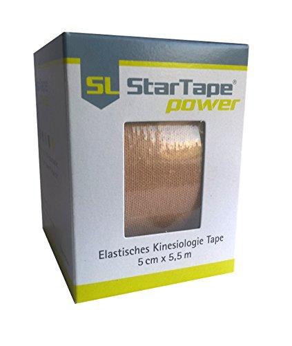 SL Star Tape power, 5cmx5,5m beige -