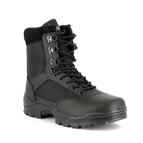 Mil-Tec SWAT Stiefel schwarz Einsatzstiefel Trekking-Schuh Wanderschuh Bergschuh Outdoorschuh Größe 37-50 (50)