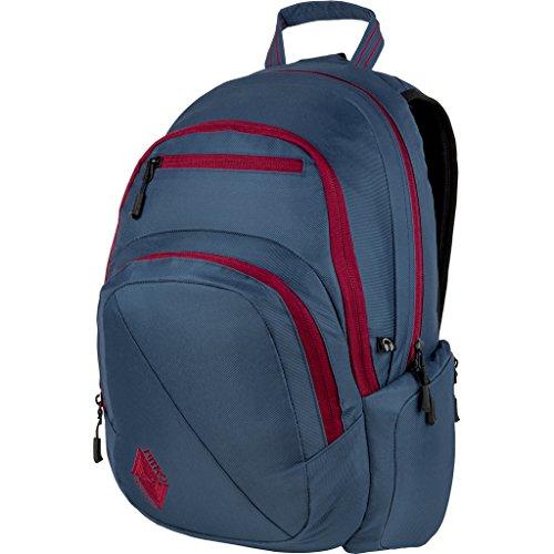 Nitro Stash Rucksack, Schulrucksack, Schoolbag, Daypack,  Blue Steel, 49 x 32 x 22 cm, 29 L,