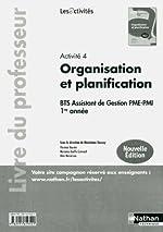 Activité 4 - Organisation et planification