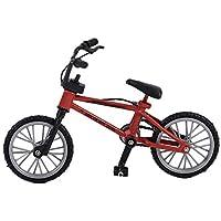 Lovelysunshiny Mini tamaño Simulación Aleación Dedo Bicicleta Niños Niño Funnt Mini Dedo Bicicleta de Juguete