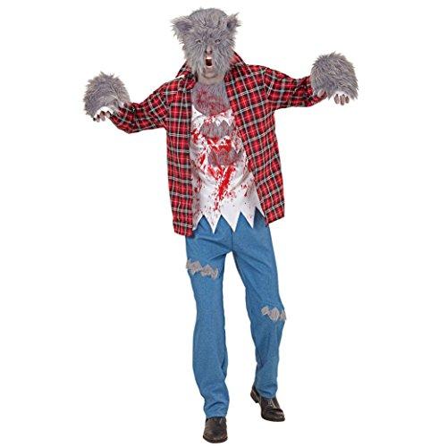 Kopf Kostüm Werwolf - Widmann 08804 Erwachsenen Kostüm Werwolf, mens, XL