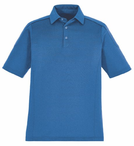Extreme Herren Performance Melange Polo Shirt. 85117 NAUTICL BLUE 413