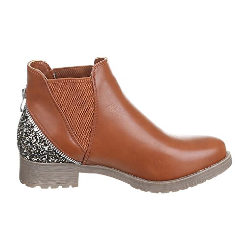 Chaussures, bottines w103 Marron - Camel