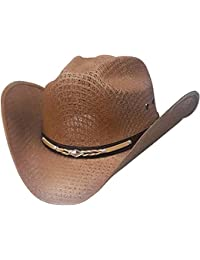 Amazon.co.uk  Modestone - Cowboy Hats   Hats   Caps  Clothing c8fa8e7b0fea