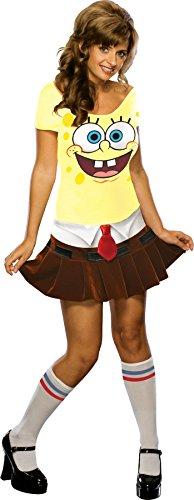 Generique Sexy Spongebob Schwammkopf-Kostüm für -