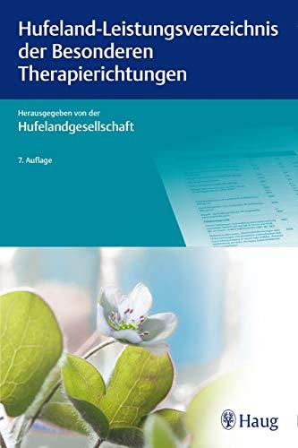 Hufeland-Leistungsverzeichnis der Besonderen Therapierichtungen