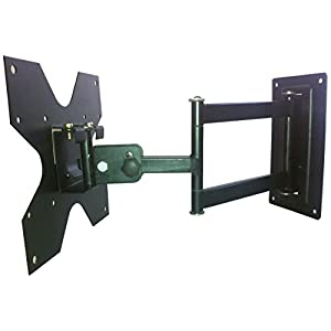 Smart Shelter Universal LCD / LED TV Swivel Type Movable Wall / Corner mount Bracket / Stand for TVs up to 32 inches