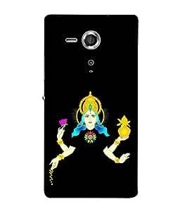PrintVisa Designer Back Case Cover for Sony Xperia SP :: Sony Xperia SP HSPA C5302 :: Sony Xperia SP LTE C5303 :: Sony Xperia SP LTE C5306 (Classic Momento Art Photo Of laxmi mata)