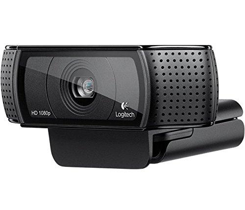 Logitech C920 HD Pro USB 1080p Webcam - Black