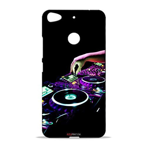 ezyPRNT Letv 1S Mobile Back Case Cover with DJ Music and Dance Design