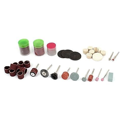 "sourcingmap® 1/8"" Sablage Sciage Cell Kit outil rotatif 95 pcs"