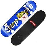 OLDJTK Skateboard Fancy Board Débutant Professionnel Action Route 101 Haute élastique PU Roue de Perfusion Double Bascule personnalité Skateboard Longboard (Color : A)