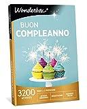 WONDERBOX Cofanetto Regalo - Buon Compleanno - 3200 attività per 1 O 2 Persone