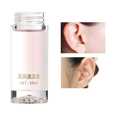 Ohrloch-Reinigungslösung mit Schnur(Rose)