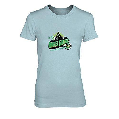 Greetings from Angel Grove Green - Damen T-Shirt, Größe: XL, Farbe: ()