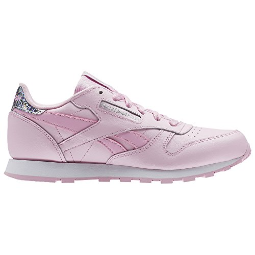 Reebok Classic Leather Pastel, Zapatillas de Running para Mujer, Rosa (Rosa/(Charming Pink/White) 000), 38 EU