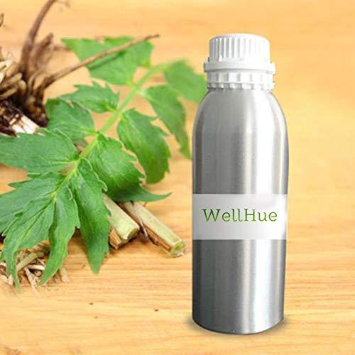 WellHue Baldrian ätherisches Öl, 100{ec362f8b1c55a7ae9354fd52dd9f7cedc8e2ec2a73202c077f8e100625dc53e3} natürliche Aromatherapie-Öle, 5 ml bis 250 ml