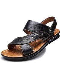 97d0c5d3e Sandalias de Hombre Deportes acuáticos para Zapatos Zapatillas Hombre Cuero  Antideslizante Descalzo