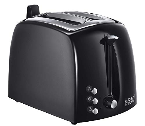 Russell Hobbs Toaster Textures+, 2 extra breite...