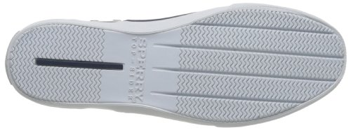Sperry Striper Laceless, Chaussons Sneaker Homme Blanc (White)