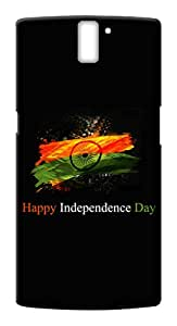 Mott2 Back Case for OnePlus One / OnePlus 1 | OnePlus One / OnePlus 1Back Cover | OnePlus One / OnePlus 1 Back Case - Printed Designer Hard Plastic Case - Independence Day theme