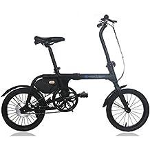 IC Electric Micro, Bicicletta elettrica pieghevole, unisex adulto, Nero