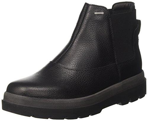 Geox Damen D Doralia Np Abx A Chelsea Boots Schwarz (Black)