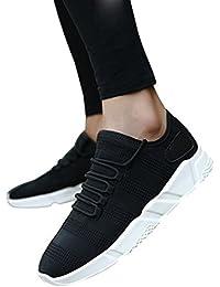 beautyjourney Scarpe Running Uomo da Ginnastica Scarpe Sneakers estive  Eleganti Donna Scarpe da Corsa Uomo Sportive Scarpe Uomo… d3a6a9d70af