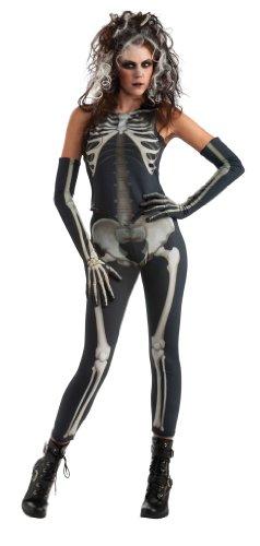 Imagen de rubie's i 880213std  disfraz de esqueleto para mujer adulto